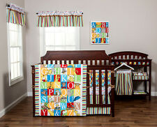 Trend Lab Dr. Seuss Alphabet Suess Nursery Crib Bedding 3-9 Piece or Customize