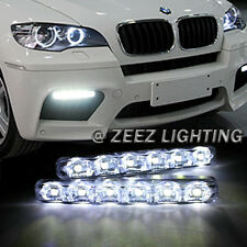 Super Bright 6 LED Daytime Running Light DRL Daylight Kit Fog Lamp Day Lights 6K