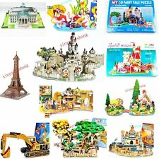 New Foam intellectual Cartoon 3D Paper Puzzle DIY jigsaw Toy Boys Girls Unisex