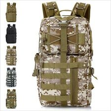 Molle Tactical Army Outdoor Camouflage Assault Backpack 3 day Life SWAT Police