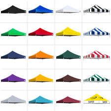 New Ez Pop Up Replacement instant canopy gazebo tent Top Cover Choose 19 Colors