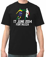 soccer Jersey World Cup 2014 football Shirt Group A BRAZIL vs MEXICO Fortaleza