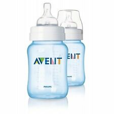 Philips Avent - Special Edition Feeding Bottles Blue or Pink 2 x 260ml/9oz (1m+)