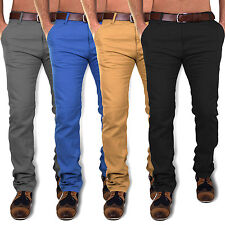 J19NM:NEU SEASON SLIM FIT HERREN CHINOHOSE DENIM TROUSERS JEANS GRÖßE  29 - W36