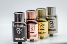 Cartel Stillare v2 Rebuildable Atomizer by SXK. Black, Copper, SS RDA Dripper