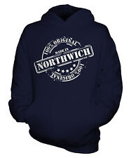 MADE IN NORTHWICH UNISEX KIDS HOODIE BOYS GIRLS CHILDRENS TODDLER FUNNY