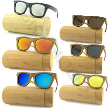Carbonized Bamboo Sunglasses Polarized Wooden frame glasses with  Wood case