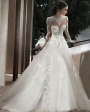 2015 New Sexy Wedding Dress Bridal Gown Lace Custom Size2-4-6-8-10-12-14-16-18+