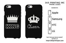 King / Queen Phone Cases - iPhone 4 5 5C 6 6+, Galaxy S3 S4 S5 Note , HTC M8, G3