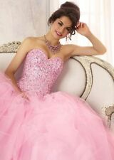 New Quinceanera Formal Prom Party Ball Gown Bridesmaid Evening Dress Size 2-28++