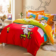 *** Musical Snoopy Queen Bed Quilt Cover Set - Flat or Fitted Sheet ***