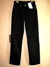 Escada Sport Black Stretch Straight Petite Jeans Flattering High Waist EU 32/0-2