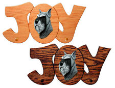Schnauzer Joy Leash Holder. In Home Wall Decor Dog Breed Products & Gifts