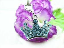 Rhinestone Crown Collar Charm Personalized Pet Jewelry Luxury Dog Grooming