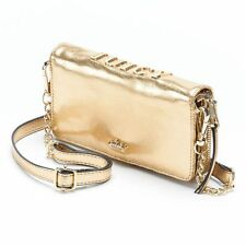NEW Juicy Couture Sylvia Wallet Crossbody Bag GOLD or BLACK
