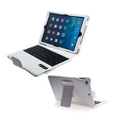 High quality For iPad air 2 PU Leather Stand Folio Case Cover+Bluetooth Keyboard