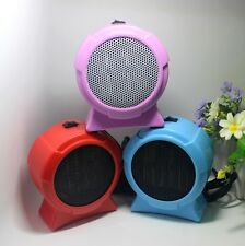 Mini Portable Personal Ceramic Space Heater Electric Winter Warmer Fan