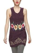 CONTEMPORARY DRESS MARTA DESIGUAL SPAIN NEW M WOOL MOHAIR FLOWERS