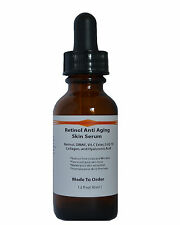 Retinol Anti Aging Skin Serum Retinol,DMAE, Vitamin C Ester, CoQ-10,Collagen, HA