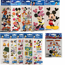 DISNEY STICKERS - MICKEY AND MINNIE MOUSE, MICKEY AND FRIENDS - YOUR CHOICE