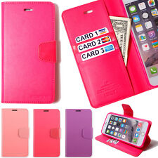 Wallet case credit id card holder Flip cover  Pouch clutch purse Stand combo S