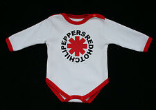 Red Hot Chili Peppers Cute baby onesie bodysuit  unny bodysuit onepiece rock fan