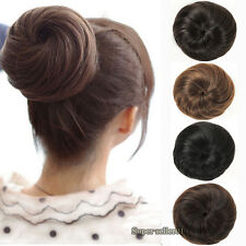 popular Japanese Bud head Hair Bun Hairpiece Ladies Girls Clip-on False Hair et