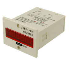 JDM11-6H electronic counter cumulative four-wire