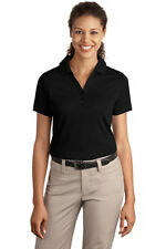 Port Authority Ladies Silk Touch Interlock Polo. L520