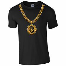 $ Doller Belcher Chain T Shirt Tee Top Swag Dope Hype Tumblr Mens USA States