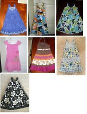 Gymboree U CHOOSE dress tropical sun beach girls size 6 EUC po