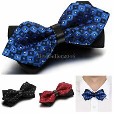 Casual Men's Adjustable Novelty Bow Tie Tuxedo Wedding Party Bowtie Necktie