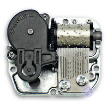 Silver Sankyo Musical Movement for DIY Music Box With Over 40 Melodies Choice