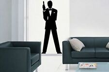 James Bond 007 Style lounge bedroom kitchen Vinyl wall art Decal-Sticker 3 for 2