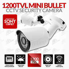 1200TVL 1000TVL 800TVL CCTV Metal Dome White Camera (3.6mm Lens) IP66 - IR 20m