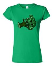 Junior Too Cute To Eat Broccoli Vegetables Veggie Food Novelty DT T-Shirt Tee