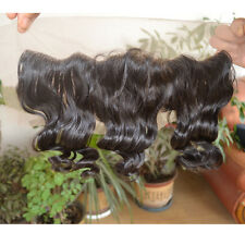 Brazilian Virgin Human Hair Lace Frontal Closure Loose Wave With Baby Hair 13x4