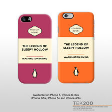 iPhone 6 The legend of Sleepy Hollow Washington Irving book cover phone case 116