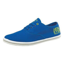 Henleys Troy Mens Casual Shoes Blue/Yellow
