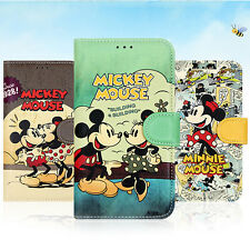 Authentic Disney Classic Diary Case Galaxy Note 4 Case 6 Types Card Pocket Diary
