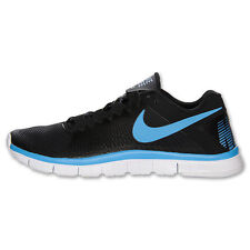 Nike FREE TRAINER 3.0 - 553684 004 - Mens Black Running Shoes Sneakers Trainers