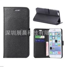PREMIUM Luxury PU Leather Wallet Case Flip Cover Stand for iPhone 6S Plus 5.5""