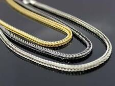 "2.5MM Franco Box Chain Link 36"" Mens Necklace Bold Hip Hop Bling Solid New!!"