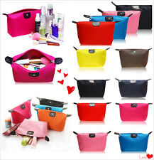 Colorful Portable Lady's Travel Make Up Pouch Bag Clutch Handbag Casual Purses