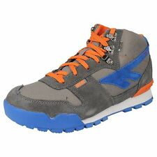 "MENS CHARCOAL/GREY/TENGELO HI-TEC CASUAL SHOES ""SIERRA LITE ORIGINAL WP"""