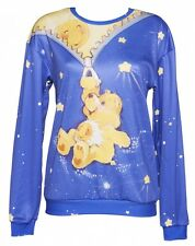 Official EXCLUSIVE Unisex Care Bears All Over Print Jumper from Mr Gugu & Miss G