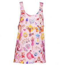 EXCLUSIVE All Over Print Vintage Toys Loose Fit Tank Vest from Mr Gugu And Miss