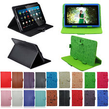 "PU Leather Case Stand Folios Cover For Universal Android Tablet 7""8""9""9.7""10.1"""