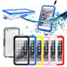 "New Case For iPhone 6 6+ Plus 4.7"" 5.5"" Waterproof Durable Shockproof Cover Skin"