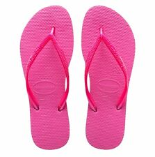Havaianas Women`s Flip Flops Slim Style Sandal Shocking Pink All Sizes NWT